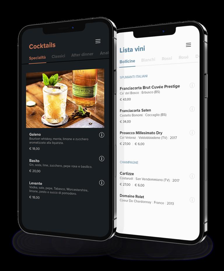 Smartmenu Foodboard by Dedans